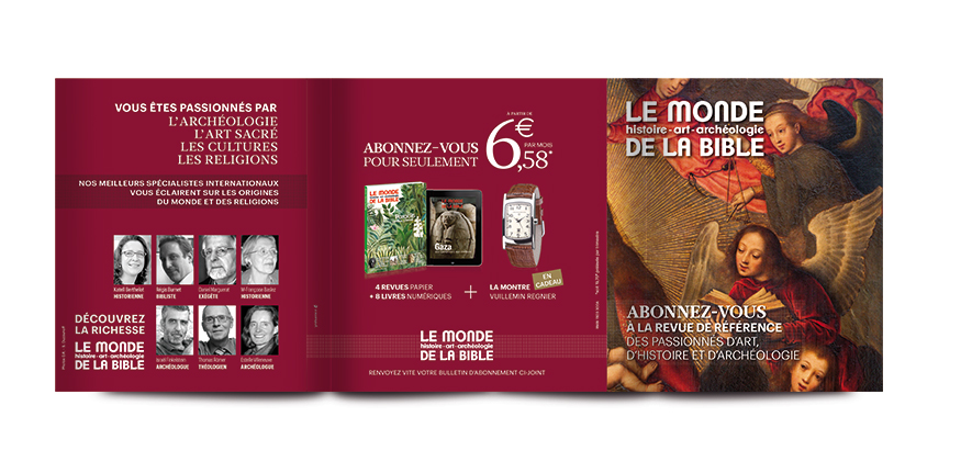 Marketing direct le monde de la bible